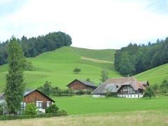 Stattliches Bauerngehöft in Lützelflüh BE (Bild: Josef Habermacher)