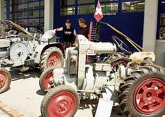Der älteste Traktor – Jahrgang 1930 – von Roman Berger.
