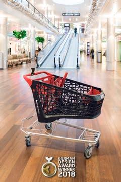 Der preisgekrönte Einkaufswagen «Salsa» kommt im Shoppi Tivoli in Spreitenbach zum Einsatz.
