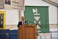 Regierungspräsident Stefan Kölliker bei seiner Ansprache.