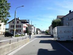 In St.Gallen-Winkeln ist es an diesem Tag verhältnismässig ruhig. (Bild: Marlen Hämmerli)