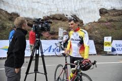 Der ehemalige Urner Radprofi Beat Zberg ist noch immer ein gefragter Interview-Partner. (Bild: Urs Hanhart)