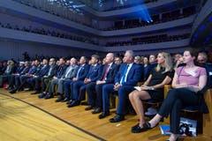 Rund 1200 Gäste waren bei der Preisverleihung im KKL Luzern anwesend. (Bild: Eveline Beerkircher)