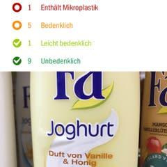 Fa, Duschcrème, Duft von Vanille & Honig