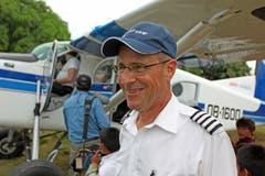 Flugkapitän Ruedi Wiedler hat mit seinem PC-6 in Peru über 10000 Flugstunden absolviert. (Bilder: pd)