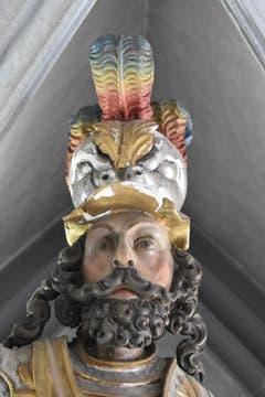 Figur des Heiligen St. Mauritius.