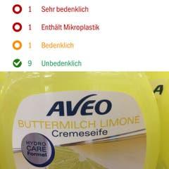 Aveo, Crèmeseife, Buttermilch Limone