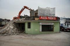 21 Gebäude wurden zurückgebaut. (Nadia Schärli, 3. April 2014)