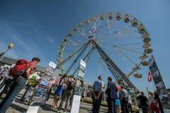 Eröffnung des Seetalplatzes in Emmen. (Pius Amrein, 16. Juni 2018)