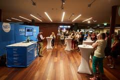 Der Kabarettist Veri erklärt die neue Website und App der Luzerner Zeitung. (Bild: Jakob Ineichen, Stans, 16.06.2018)