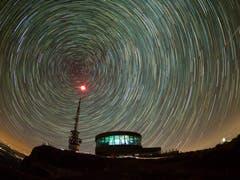 Sternennacht auf dem Hohen Kasten (Bild: Matthias Kopp)