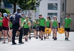 Seetal 2018. Verbandsturnfest am 16. Juni 2018 in Hochdorf.