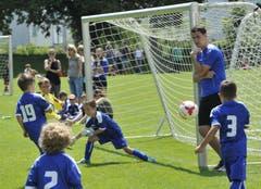 Brenzlige Szenen vor dem Goal. (Bild: Urs Nobel)