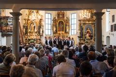 18 Klubs gaben in der gut gefüllten Pfarrkirche Vorträge zum Besten. (Bild: Eveline Beerkircher)