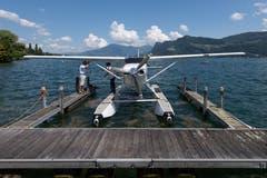 Impressionen vom Schweizerischen Wasserflugzeugtreffen in Hergiswil am 2. Juni 2018.(LZ/Eveline Beerkircher)