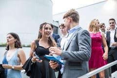 Impressionen der Maturafeier der Klassen 6e, 6f, 6g, 6h der Kanti Alpenquai.Fotografiert am 21. Juni 2018 in Luzern.(Manuela Jans-Koch | LZ)
