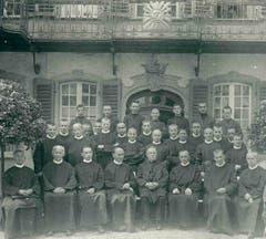 Die Brüdergemeinschaft im Steinhof um 1930. (Bilder: Archiv Pflegeheim Steinhof)