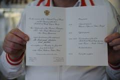 Da er nicht ans Eröffnungsspiel nach Moskau reisen konnte, wurde Ferdi Muheim von der Russischen Botschaft in Bern eingeladen, das Spiel in Bern anzuschauen. (Bild: Urs Hanhart (Andermatt, 8. Juni 2018))