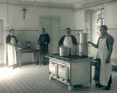 In der Steinhof-Küche.
