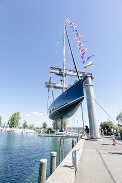 15 Meter lang ist das erhabenes Schiff.