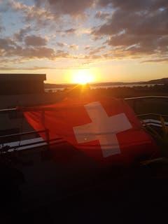 Bravo Schweiz! Geniale Stimmung!!! (Bild: Karin Imgrüth)