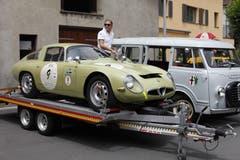 Am Alfa-Romeo-Treffen in Altdorf war dies der wertvollste Wagen, ein Alfa Romeo TZ1, mit dem noch Rennen bestritten werden. (Bild: Florian Arnold, 24. Juni 2018)