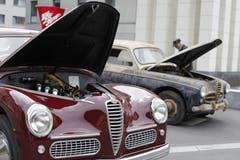 Impressionen vom Alfa-Romeo-Treffen in Altdorf. (Bild: Florian Arnold, 24. Juni 2018)