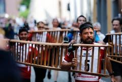 Ricardo Cerdas Cortes und Boris Alonso Sosa Centeno erreichten den vierten Rang. vlnr. (Bild: Stefan Kaiser (Zug, 25. Juni 2018))