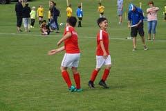 Beim Schülerturnier trat jedes Team mit Mädchen und Jungen gemischt auf.