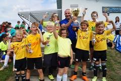 «FC Wiezikon»: Gewinner der Kategorie erste und zweite Primarstufe.