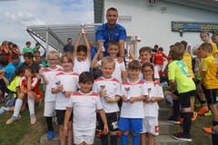 «Breitini-Kickers»: Zweiter Platz in der Kategorie erste und zweite Primarstufe.