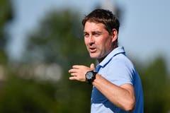 Dirigiert an der Seitenlinie: FCL-Trainer René Weiler. (Bild: Martin Meienberger / Freshfocus (Luzern, 23. Juni 2018))