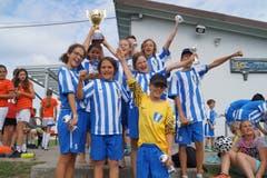 «Busswil United»: Gewinner der Kategorie fünfte und sechste Primarstufe.