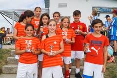 «Switzerland next Footballplayers»: Dritter Platz in der Kategorie fünfte und sechste Primarstufe.