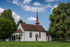 Die Schlachtkapelle Sempach von aussen. (Bild: Boris Bürgisser, 18. Juni 2018)