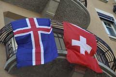 Isländisch-schweizerische Wohngemeinschaft in einem Jugendstilhaus an der Zürcher Strasse in der Lachen.