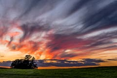 Wolkeninferno über dem Scheitlinsbüchel. (Bild: Christian Wild)