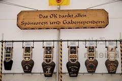 Am Schwingfest gab es einen reichhaltigen Gabentempel zu bestaunen. (Bild: Corinne Glanzmann, Attinghausen, 3. Juni 2018)