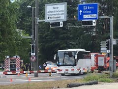 Der Unfallort (Bild: Thomas Erni/Radio Pilatus)