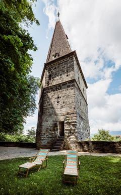 Solothurn: Der Krummturm ist das älteste unveränderte Gebäude der Stadt.