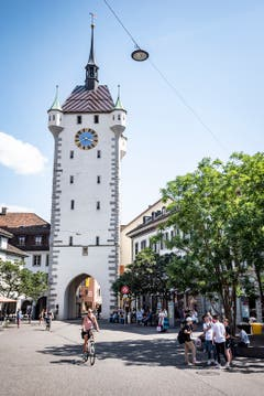 Baden: Das Hotelzimmer befindet sich in einer ehemaligen Gefängniszelle im Stadtturm.