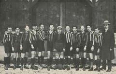 Die erste Fussball-Nachwuchsmannschaft, die der LSC je hatte.