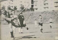 Junge LSC-Landhockeyaner, wohl in den 1960er Jahren.