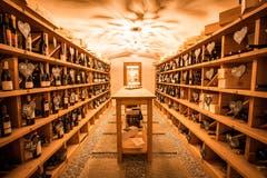 Wein und Käse Keller (Bild: Guarda Val)