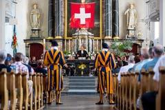 Der ökumenische Gottesdienst anlässlich der Schlachtfeier Sempach. (Bild: Philipp Schmidli, 1. Juli 2018)