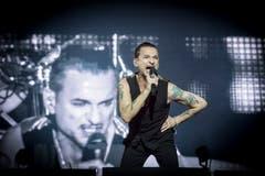 Dave Gahan, Sänger von Depeche Mode, Bild: Ralph Ribi
