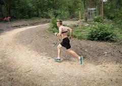 Mit einem Zwölf-Minuten-Lauf auf der Finnenbahn lässt sich die Ausdauer testen. (Bild: Ralph Ribi)