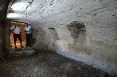 Viel Zeit investierte Markus Göldi in den schönen Gewölbekeller.