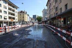 Fernwärme: Auf der Zürcher Strasse in der Lachen sind die Stadtwerke am Werk. Sie verlegen eine Verbindungsleitung für die Fernwärme. Diese Woche wurden die Vorbereitungsarbeiten erledigt, unter anderem...