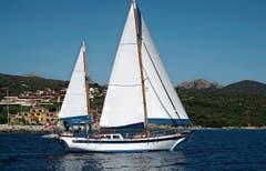 Alois Dietsche besitzt ein Hochseebrevet. Er ist meistens in den griechischen Gewässern unterwegs. (Bild: Bilder: pd)